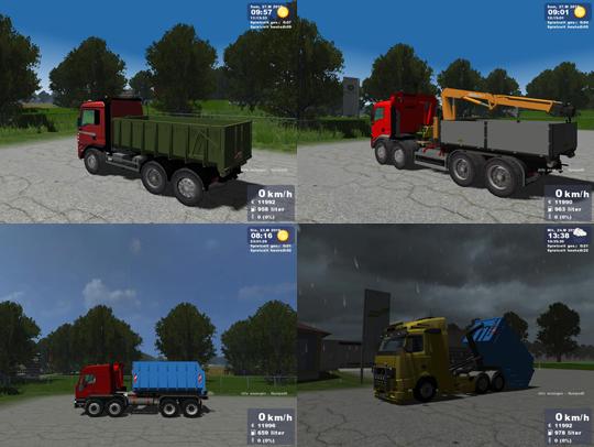 MAN & Iveco  & Volvo Pack v1.1